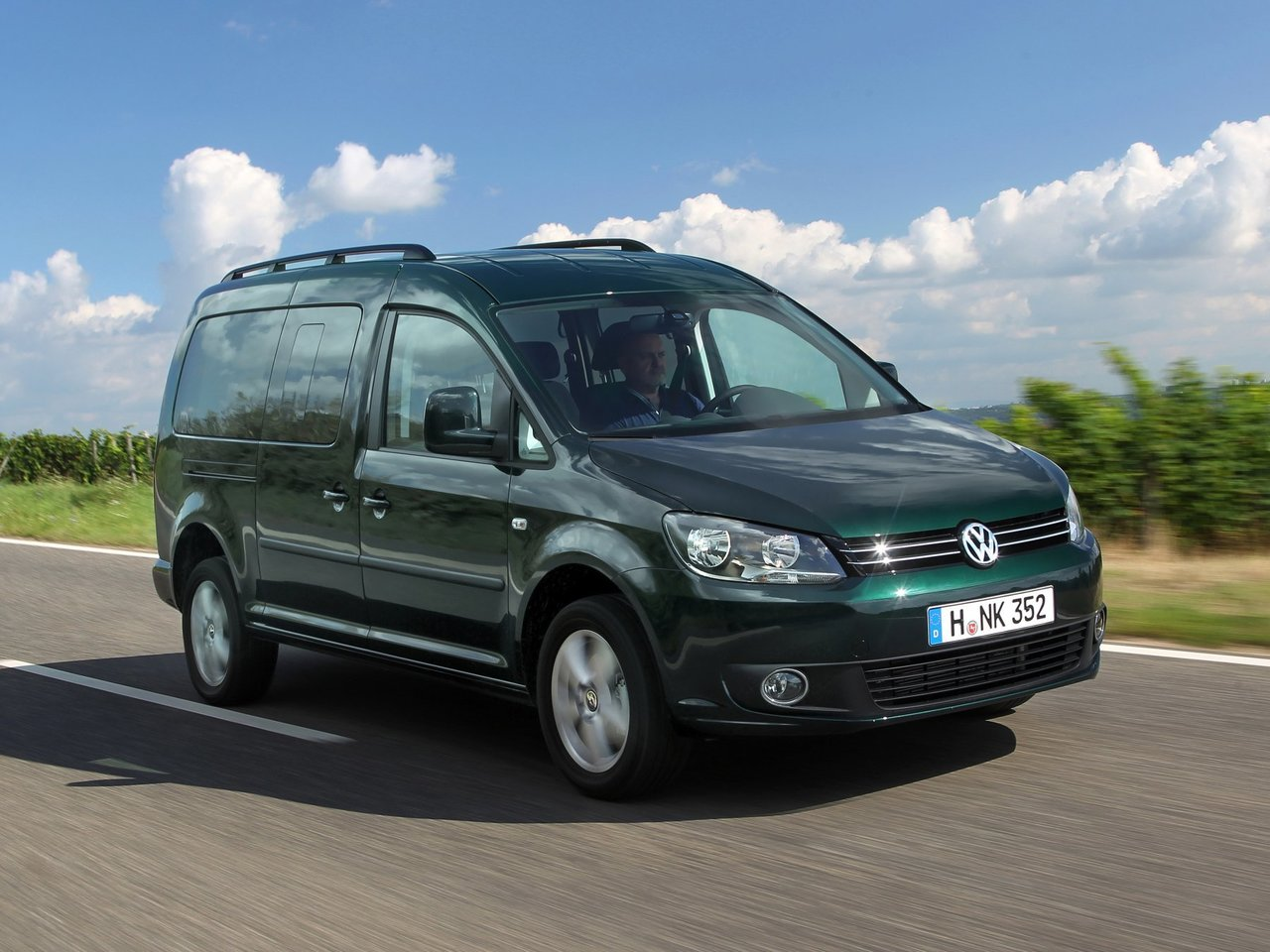 Volkswagen Caddy III рестайлинг Maxi