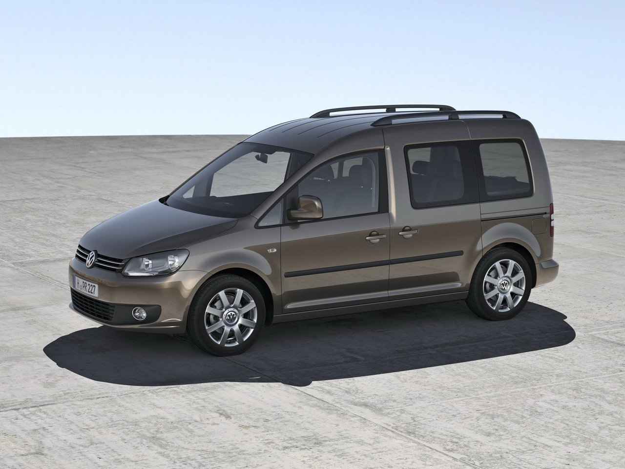Volkswagen Caddy III рестайлинг