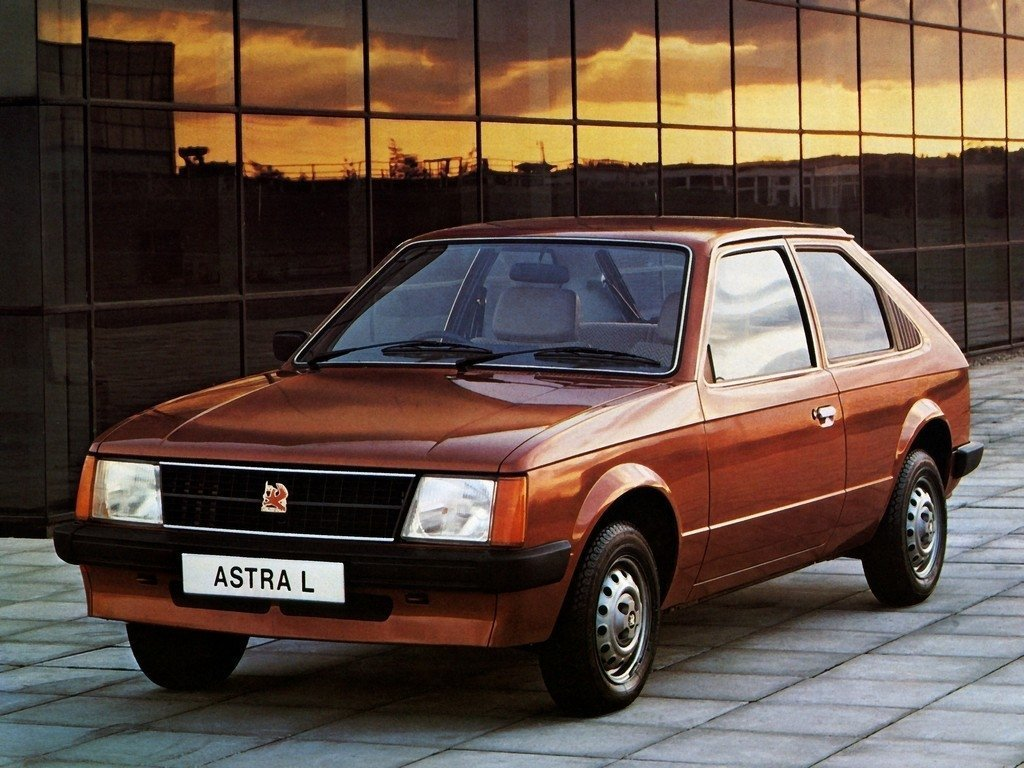 Vauxhall Astra D